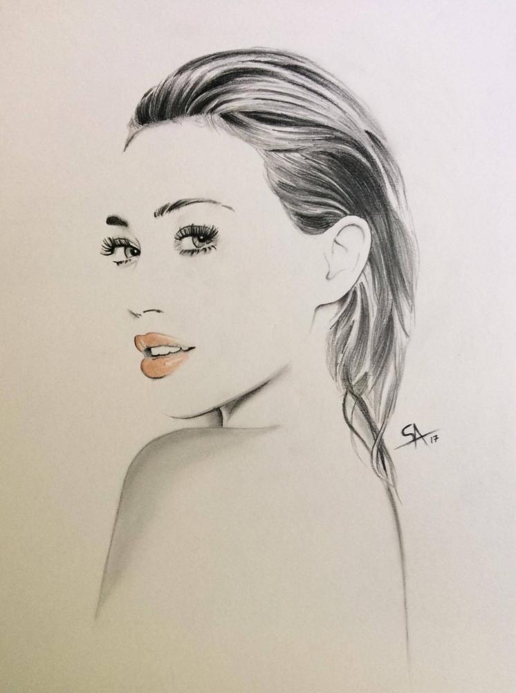 Hilary Duff by DarkSnake